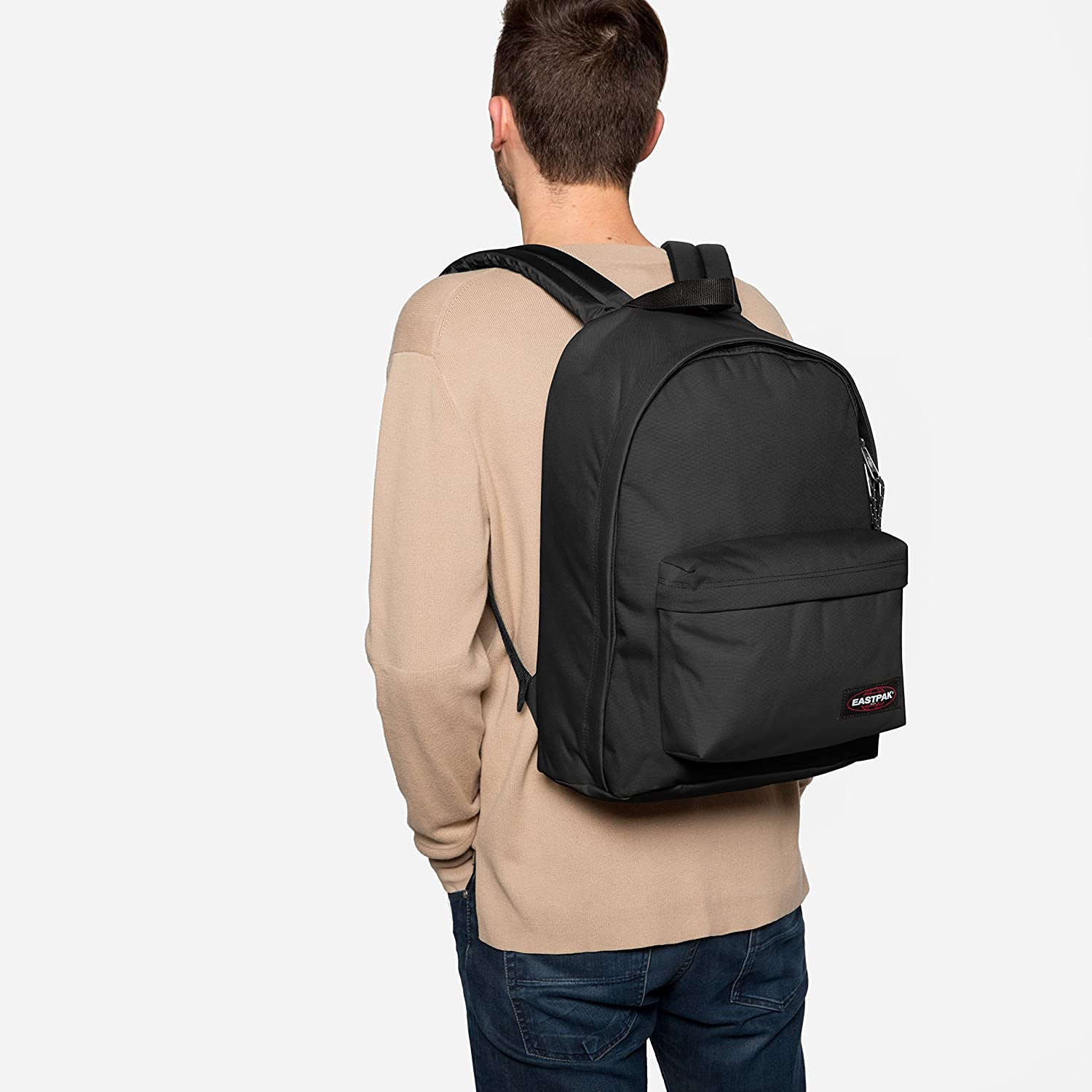 424ba18d039 Amazon.com: Eastpak Men's Out Of Office Backpack, Black, One Size: Toys &  Games