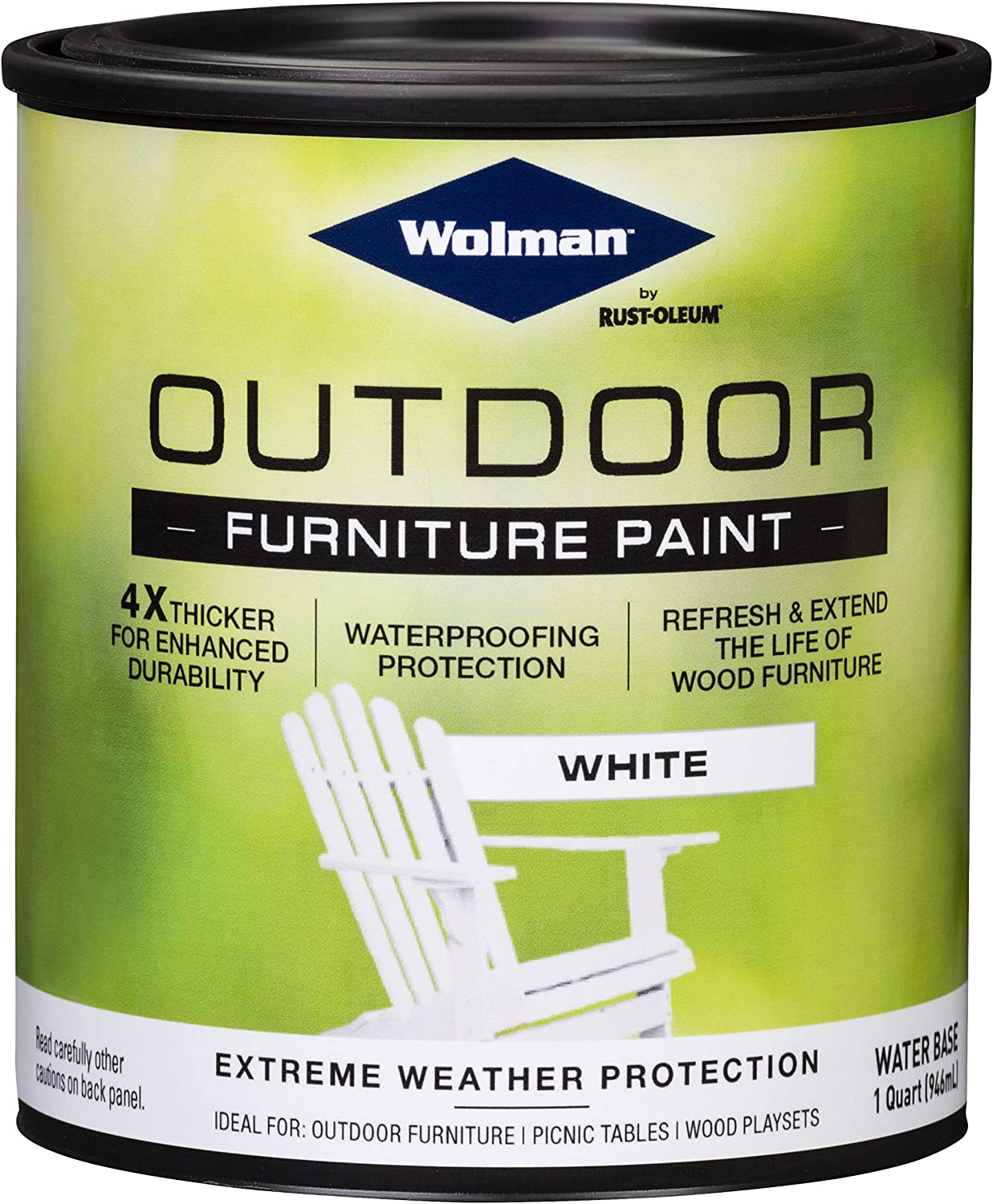 Wolman 360352 Outdoor Furniture Paint, 2 Pack, White