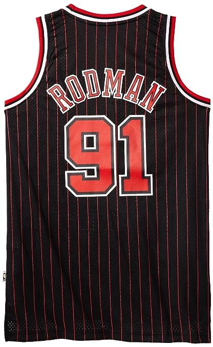 uk availability 11f28 8fe70 Buy Dennis Rodman Jersey: Adidas Black Throwback Swingman ...