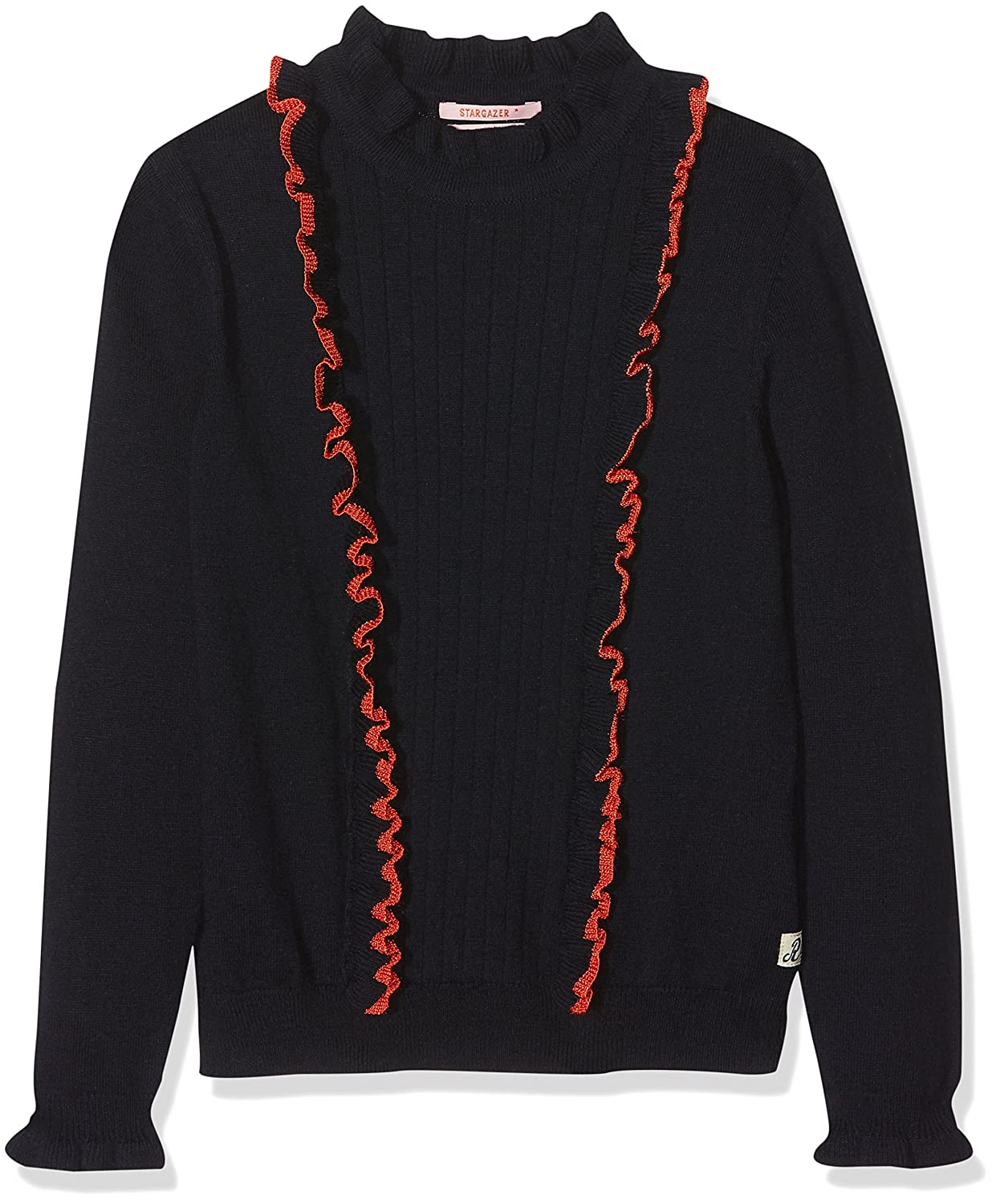 Scotch & Soda Girl's Crew Neck Pull with Ruffles Jumper Scotch & Soda R´Belle 148453