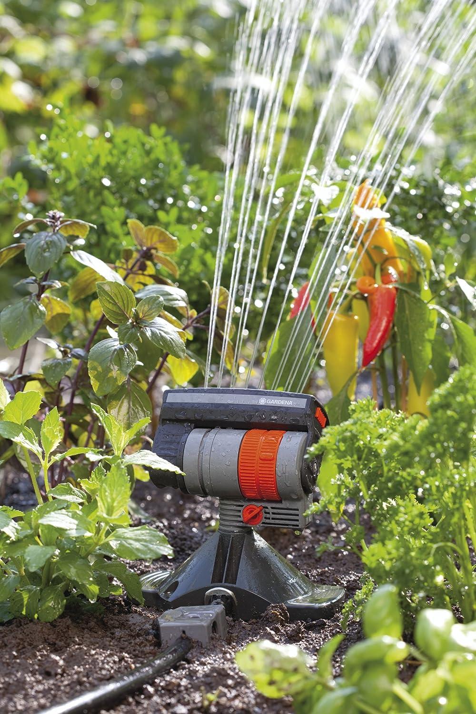 Rociador viereckregner riego de jardín aspersores sistema de riego