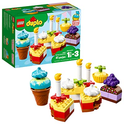 LEGO DUPLO My First Celebration 10862 Building Blocks (41 Piece): Toys & Games