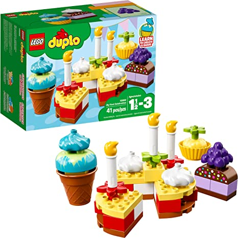 LEGO DUPLO My First Plane /& My First Cakes Ages 1 1//2-3 Yrs New Sealed