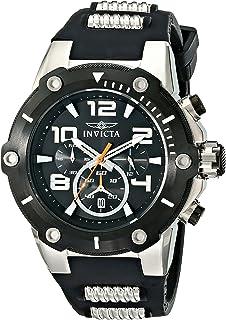Invicta Mens 17202 Speedway Analog Display Japanese Quartz Black Watch