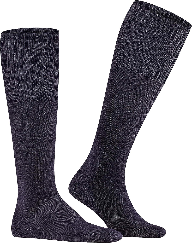 Falke Mens Airport Knee-High Sock 15435 M Dark Navy
