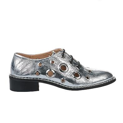 Alpe Chaussures à lacets femme - - Gris argent - 36 GRIS - Chaussures  Derbies Femme GH8HUA1Z - destrainspourtous.fr 9926b6e5a5fa