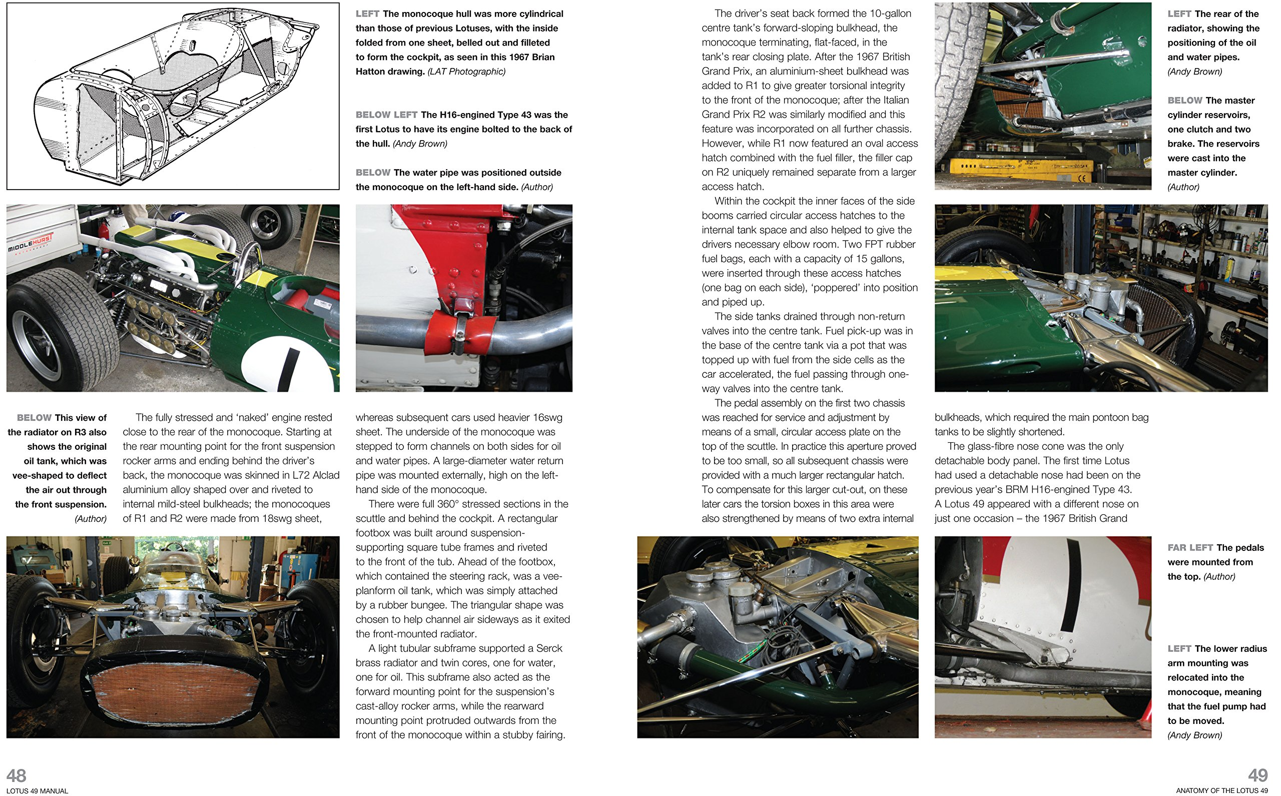 Lotus 49 manual 1967 1970 all marks an insight into the design lotus 49 manual 1967 1970 all marks an insight into the design engineering maintenance and operation of lotuss ground breaking formula 1 car haynes fandeluxe Gallery