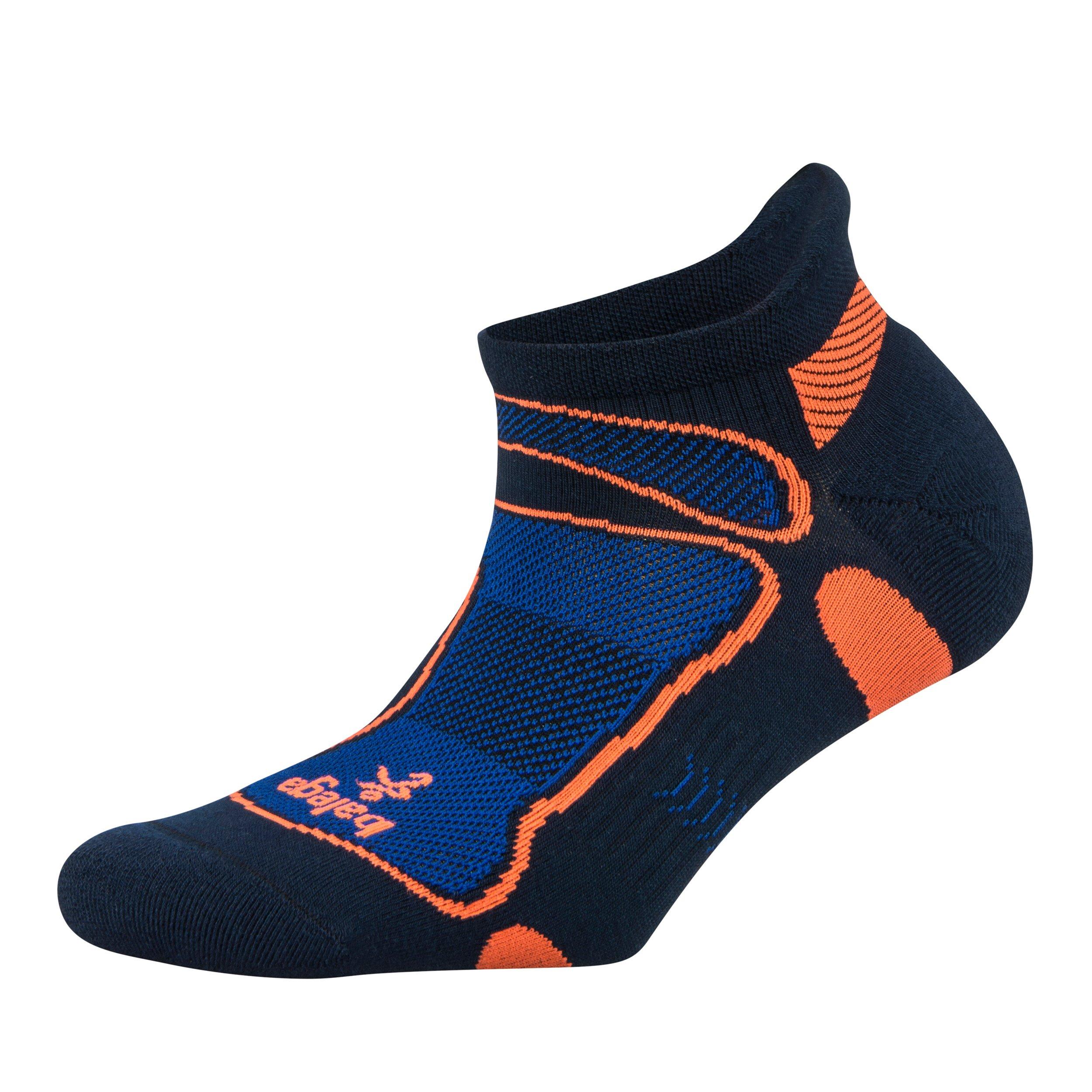Balega Ultralight No Show Athletic Running Socks for Men and Women (1 Pair), Ink/Cobalt, Large