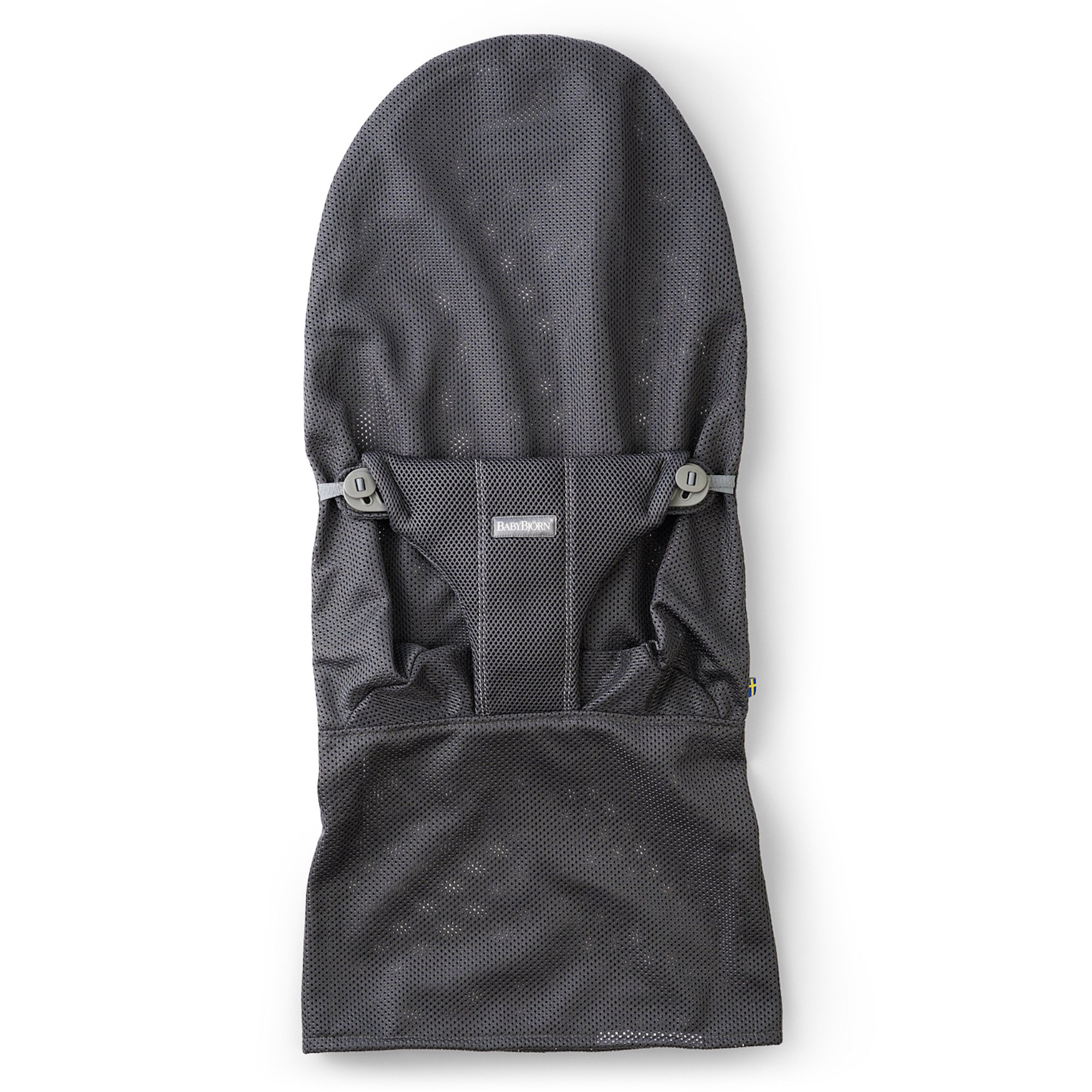 BABYBJORN BabyBjorn Fabric Seat for Bouncer - Anthracite, Mesh, Anthracite