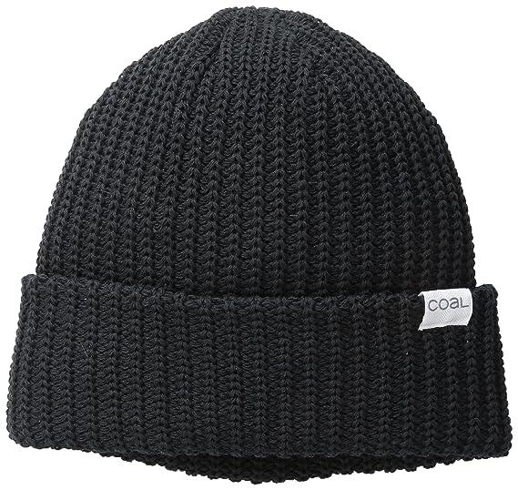 Amazon.com  Coal Men s The Eddie Recycled Rib Knit Beanie Hat  Clothing 92a72e60ffb