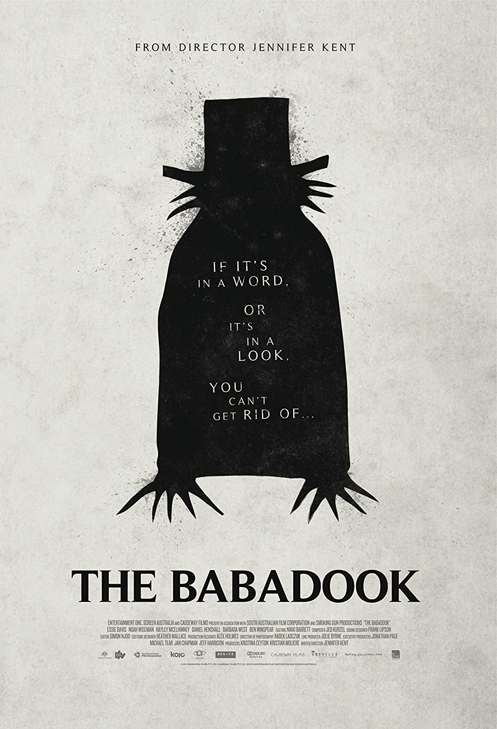 Image result for babadook movie poster""