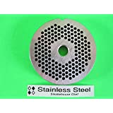"#12 x 1/8"" STAINLESS STEEL Meat Grinder plate disc for Hobart LEM Cabelas Universal MTN & others"