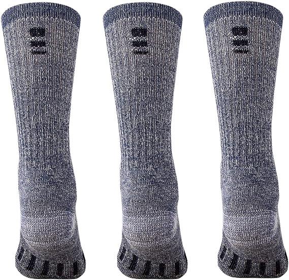 6 PAIRS x EXPLORER ORIGINAL Womens Wool Blend Crew Winter Camping Tough Socks