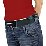 ComfortTac Ultimate Belly Band Gun Holster - Deep Concealment Edition | Compatible with Smith and Wesson, Shield, Glock 19, 1