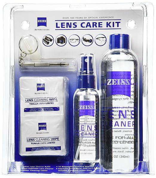 Kit de limpieza para lentes marca Zeiss (10 toallas humedas)