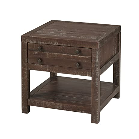 Modus Furniture 8T0622 Townsend End Table, Java