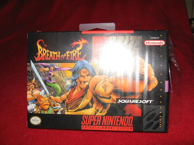 Breath Of Fire (Super Nintendo) [SNES] [NTSC / US]: Amazon