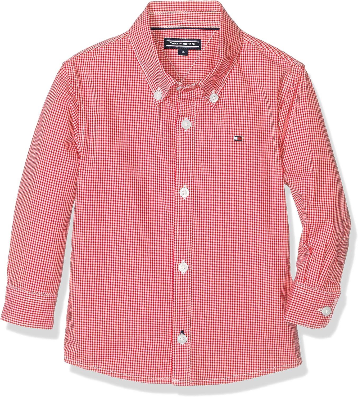 Tommy Hilfiger Boys Mini Gingham Shirt L//S