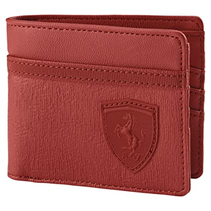 92ba20aaf5 Amazon.com: Puma - Ferrari Lifestyle Wallet, Red: Sports & Outdoors