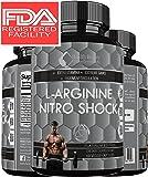 * MUSCLE PHASE L-ARGININE NITRO SHOCK PLUS * Advanced Formula Enhances Muscle Growth – Increase Stamina & Energy – Unsurpassed Bio-Availability Maximum Blood Circulation - With Beta Alanine
