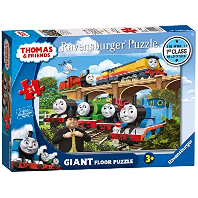 Ravensburger Thomas & Friends Rebecca Joins The Team, 24pc Giant Floor Jigsaw Puzzle: Toys & Games