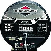 Briggs Stratton Premium Heavy-Duty Rubber Garden Hose