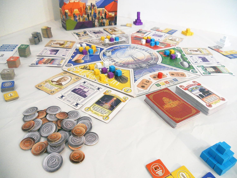 Renegade Game Studios RGS00529 WorldS Fair 1893 - Juego de Mesa: Amazon.es: Juguetes y juegos
