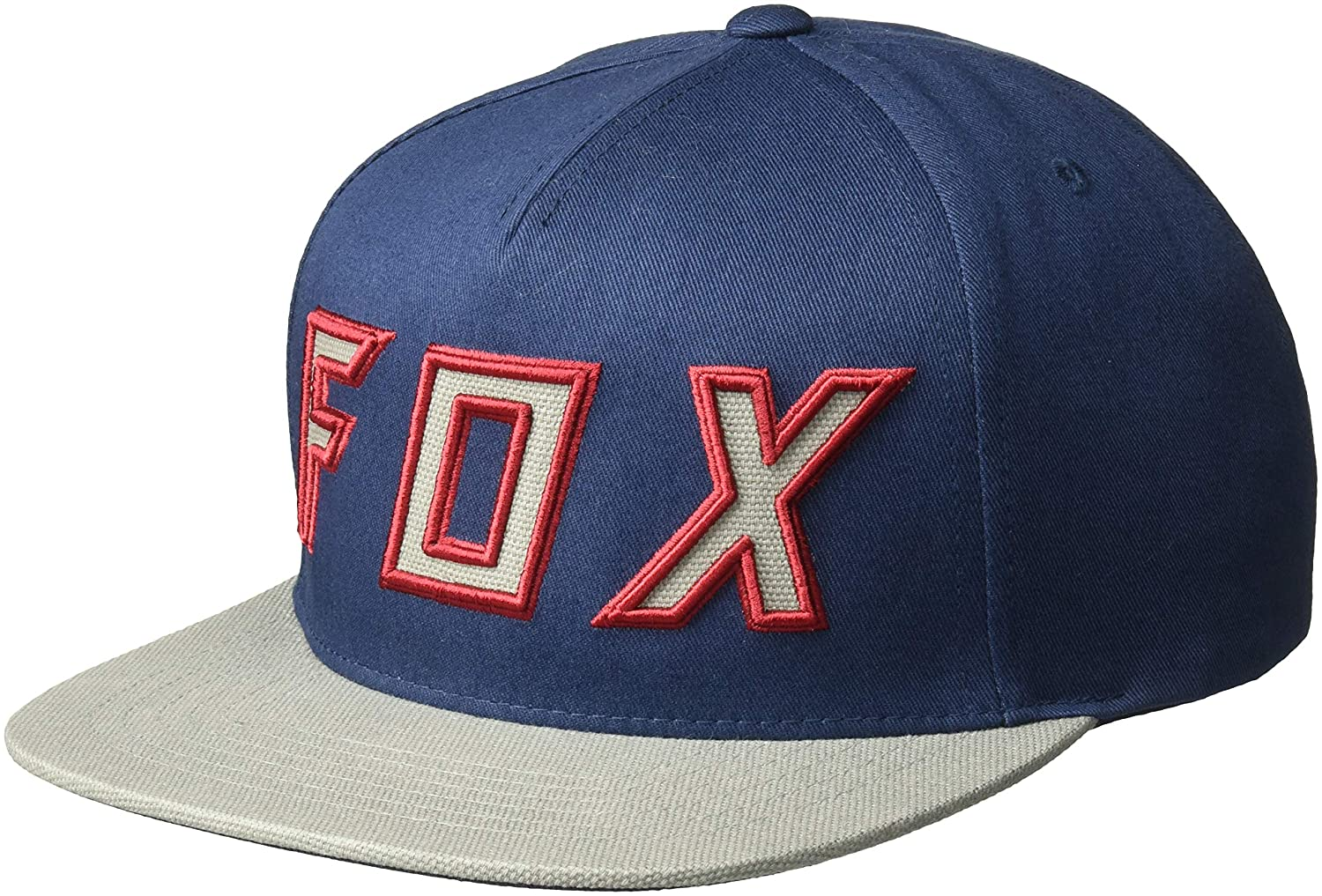 competitive price ea308 f2a94 Fox Men s Posessed Snapback Hat, Navy Grey, OS  Amazon.in  Clothing    Accessories