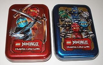 LEGO Ninjago Cartas coleccionables Box, Caja para Trading ...