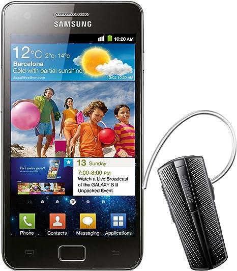 Samsung Galaxy S II i9100 - Smartphone Libre Android Color Negro ...
