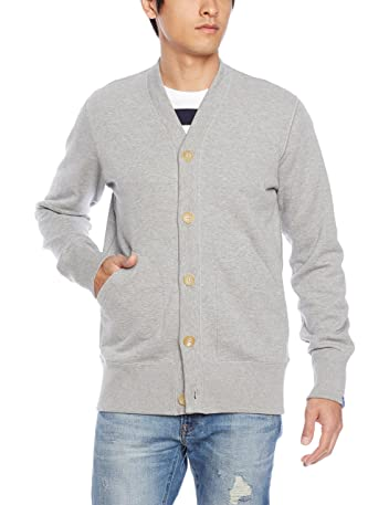 Loopwheeler LW Light Cardigan LW180: Grey