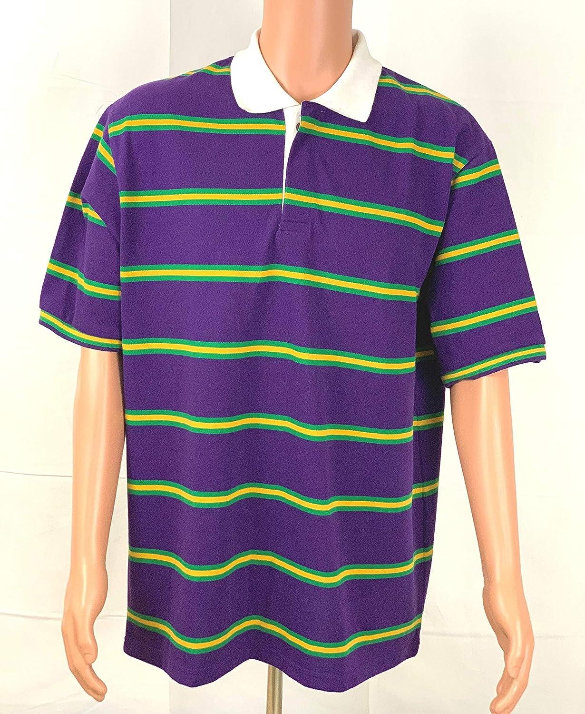Mardi Gras Purple Polo Short Sleeves # 299