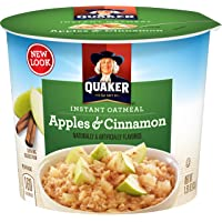 Quaker Instant Oatmeal Express, Apples & Cinnamon, 12 Cups