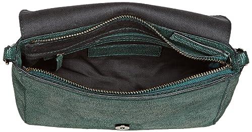 Flo Snake, Womens Cross-Body Bag, Vert (Duck), 6x15x25 cm (W x H L) Petite Mendigote