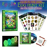Light of Jesus [Glow-Egg Hunt Kit] – Fun Easter Activity for Your Kids - Includes Egg Fillers Toys, Easter Book/ DVD and…