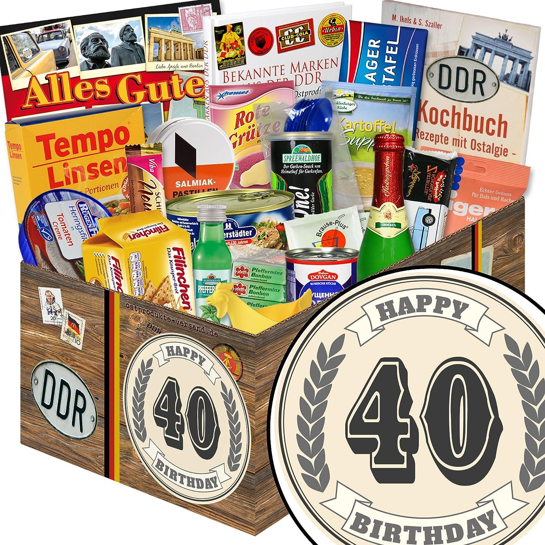 40 Geburtstag   Ossi Produkte   DDR Süßigkeiten-Box: Amazon.de ...