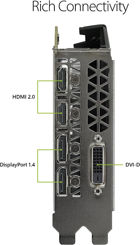 ASUS PH-GTX1060-3G GeForce GTX 1060 3GB Phoenix Fan Edition VR Ready HDMI DP DVI Graphics Card
