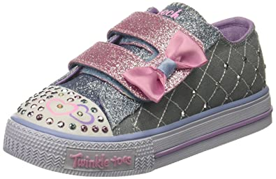 Skechers Shuffles Glitter Crush, Formatori Bambina: Amazon