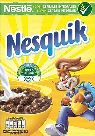 Nesquik - Cereales de chocolate para desayuno - Cereales de 375 g: Amazon.es: Alimentación y bebidas