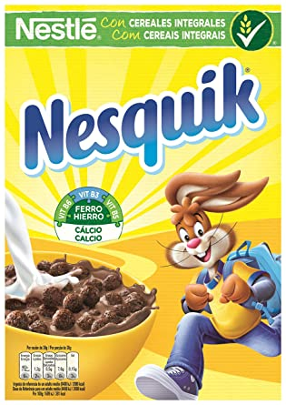 Nesquik - Cereales para desayuno - sabor a chocolate - 375 g