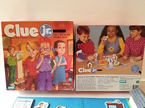 Amazon Clue Jr The Case Of The Hidden Toys 1999 Vintage