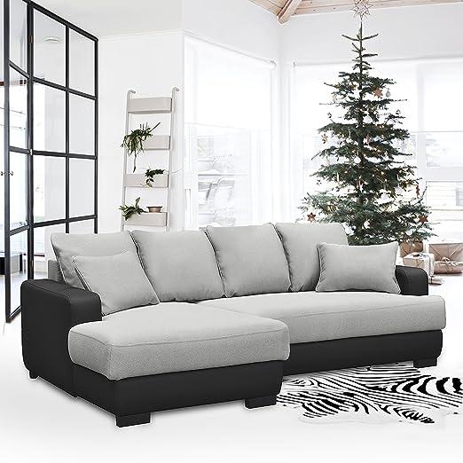 Sofá cama esquinero, de la marca Fanilife, con 2 almohadas ...