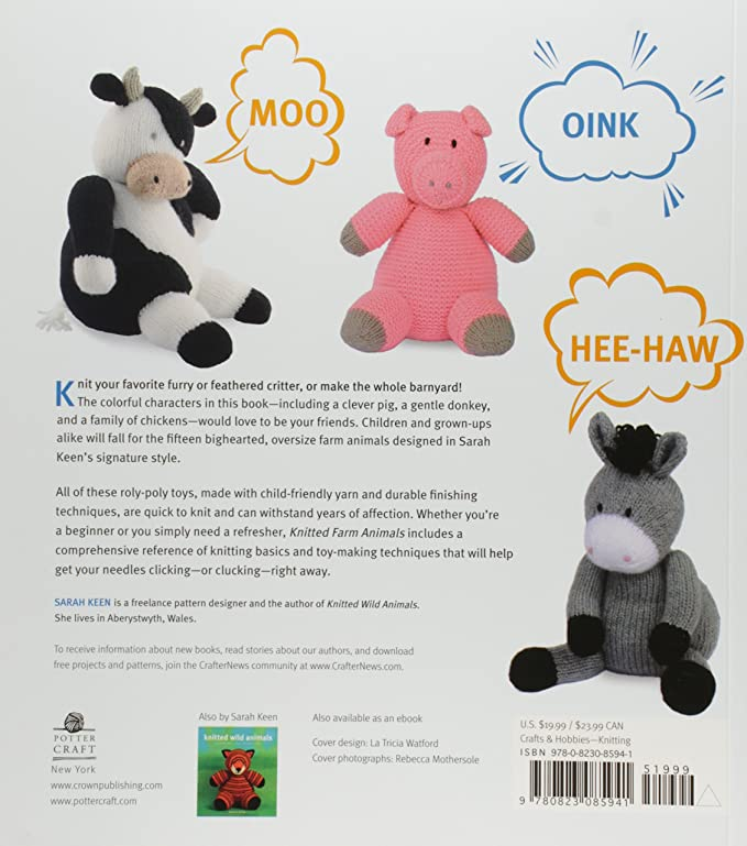 Amazon Random House Knitted Farm Animals 15 Irresistible