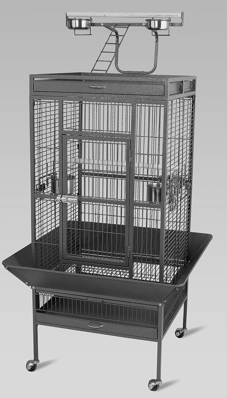 papageienk äfig Parrot Cage XXL jaula jaula loro periquito pájaro ...