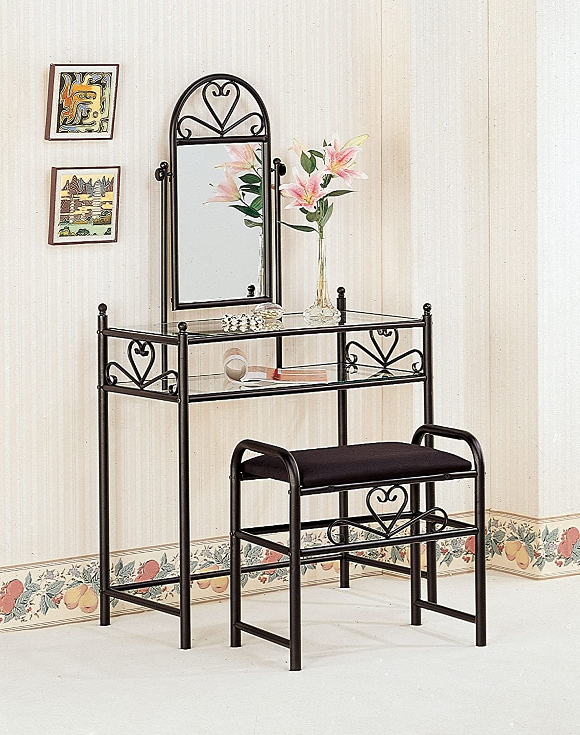 Top 6 Best Cheap Makeup Vanity Table with Mirror Reviews in 2021 4