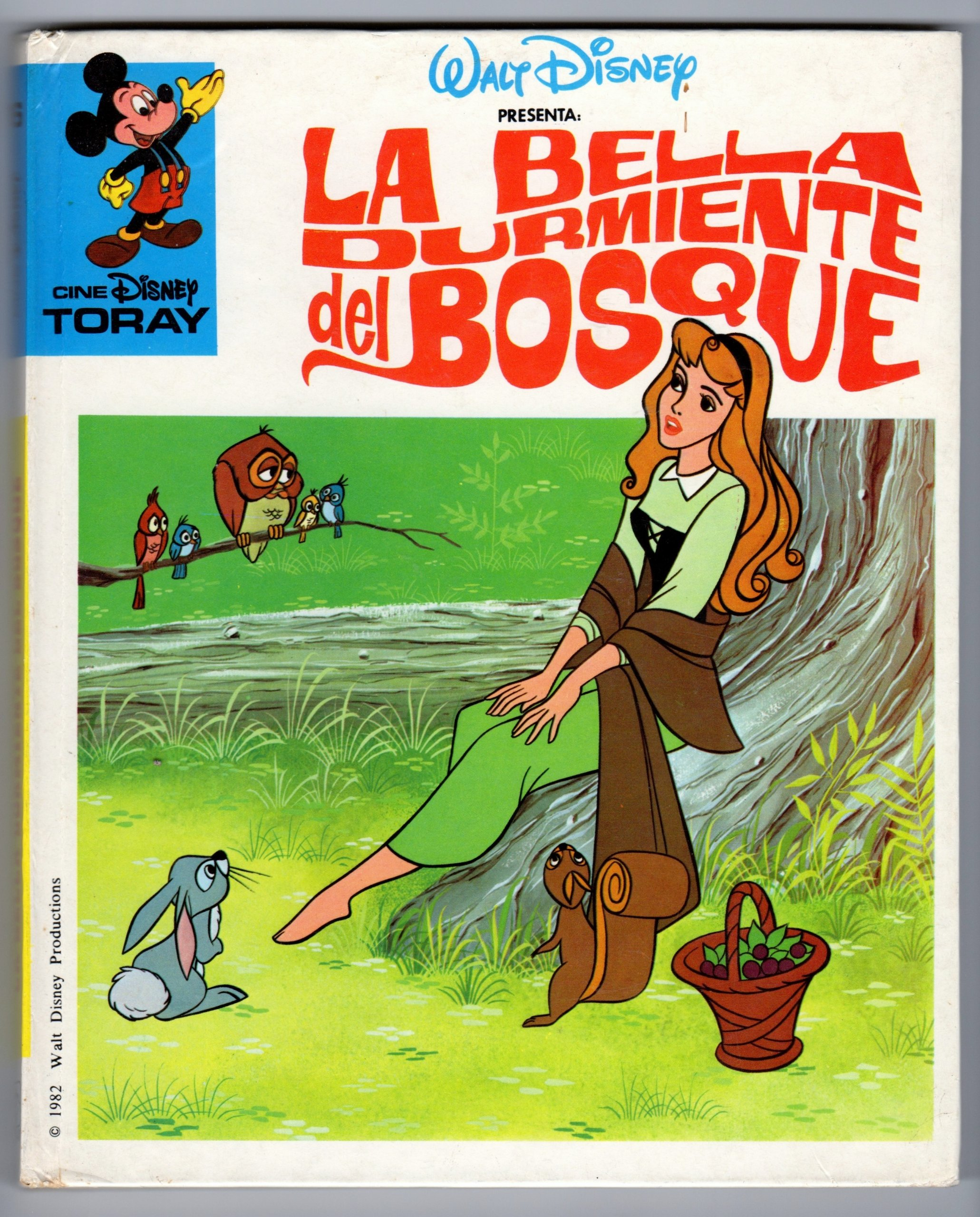 La Bella Durmiente del Bosque: Presenta Walt Disney: 9788431024352: Amazon.com: Books