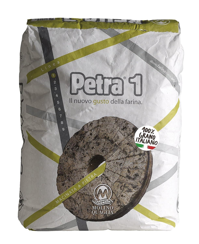 farina petra 1 kg. 25: amazon.it: alimentari e cura della casa - Farina Arredo Bagno