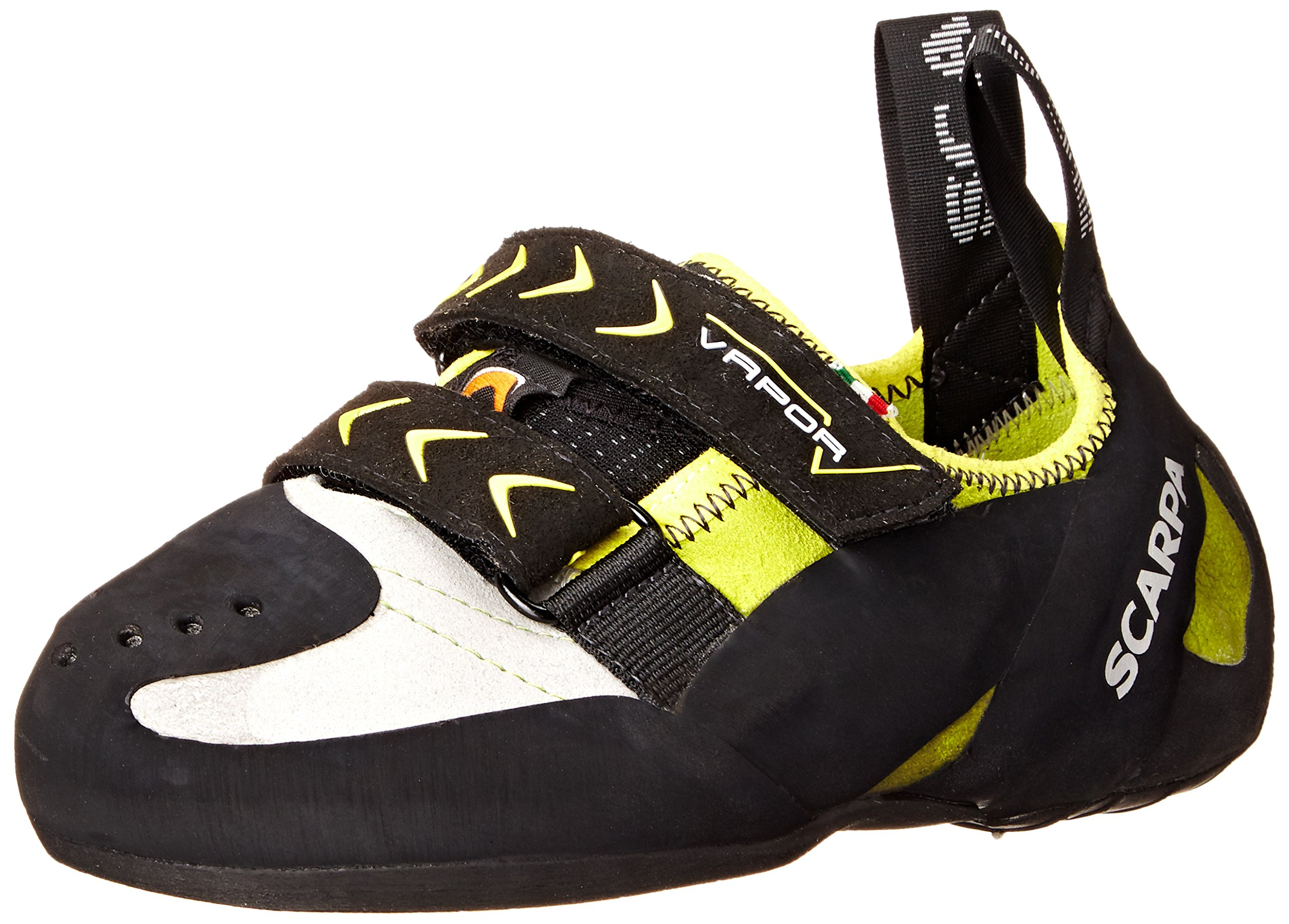 Scarpa Men's Vapor V Climbing Shoe, Lime, 43 EU/10 M US