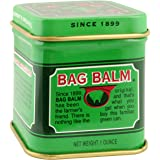 Vermont's Original Bag Balm Skin Moisturizer 1 oz mini tin -For Dry Skin that can crack or split, Hands and Feet, Elbows, Knees, Lips, Cuticles, Dry Calloused or Rough Skin.