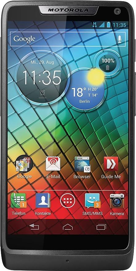 Motorola RAZR i - Smartphone libre Android Jelly Bean (pantalla ...